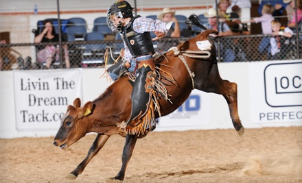 Youth Bull Riders World Finals at the Expo Center of Taylor County on 8/3/11-8/5/11: General Admission - Youth Bull Riders World Finals in Abilene