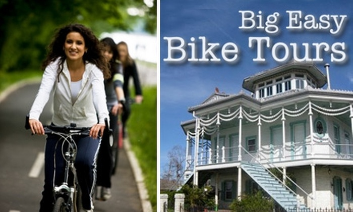 Big Easy Bike Tours - Bywater: $20 for 3.5-Hour Historical Tour with Big Easy Bike Tours