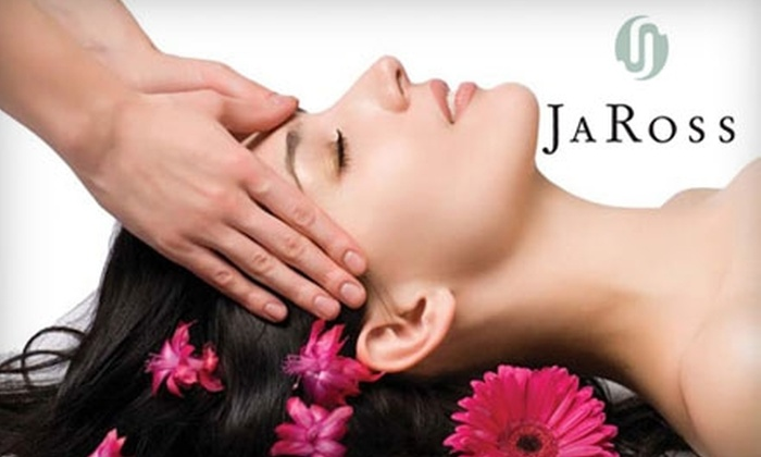 Ja Ross Salon and Resort Spa - Mishawaka: $50 for a Face, Neck, and Décolleté Microdermabrasion Treatment at JaRoss Salon and Resort Spa ($110 Value)