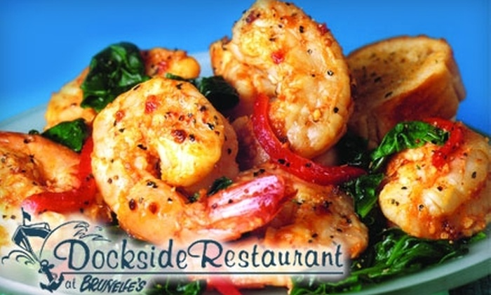 Dockside Restaurant - South Hadley: $12 for $25 Worth of Regional American Fare at Dockside Restaurant