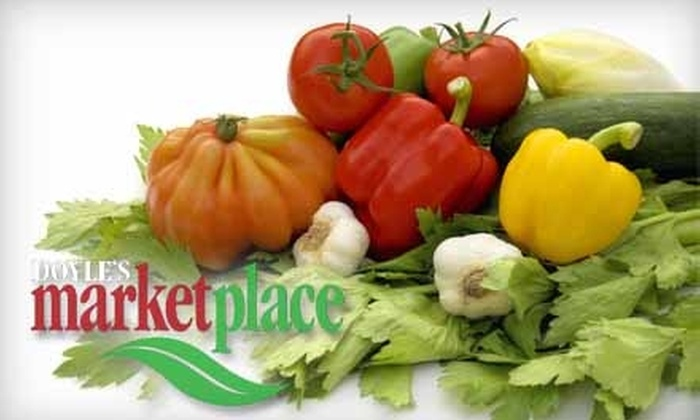 Doyle's Marketplace - Sudbury: $12 for $25 Worth of Groceries at Doyle's Marketplace