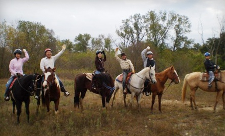 60-Minute Trail Ride for 2 (a $60 value) - Agave Hurricane Trail Company in Fort Worth