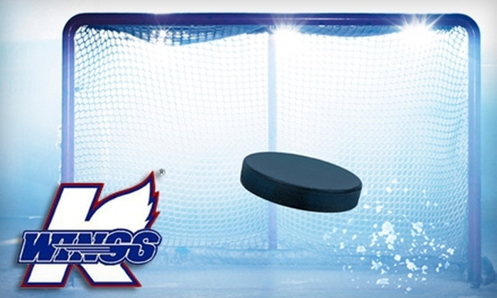 Kalamazoo Wings - Millwood: Kalamazoo Wings Hockey Tickets: $12 for Two Tickets (Up to $31.80 Value) or $6 for One Ticket (Up to $15.90 Value)