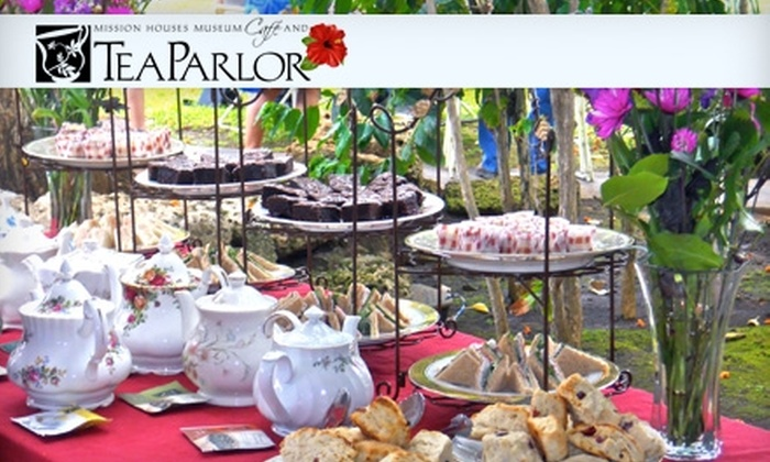 Mission Houses Museum Café and Tea Parlor - Downtown Honolulu: $18 for Tea Service for Two at Mission Houses Museum Café and Tea Parlor ($39.90 Value)