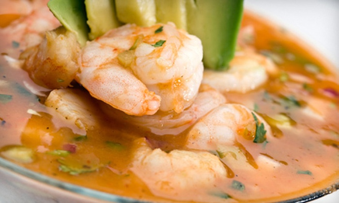 Merengue - Dudley - Brunswick King: Dominican Dinner Fare at Merengue (Up to 55% Off). Two Options Available.