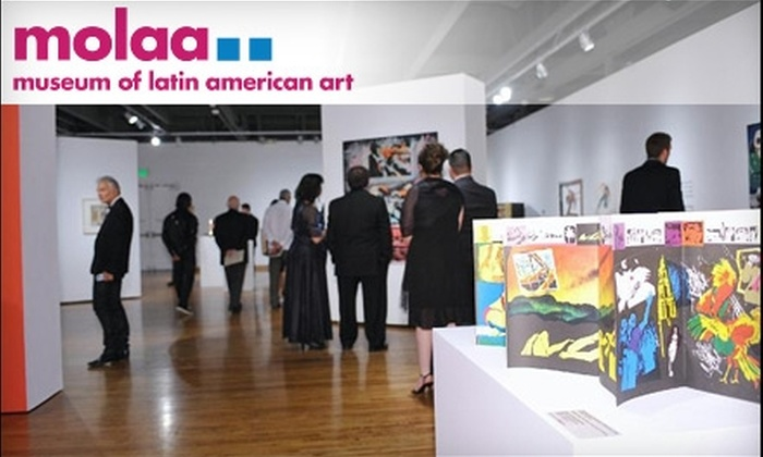 Museum of Latin American Art - Downtown Long Beach: $62 for a Friends Membership at the Museum of Latin American Art