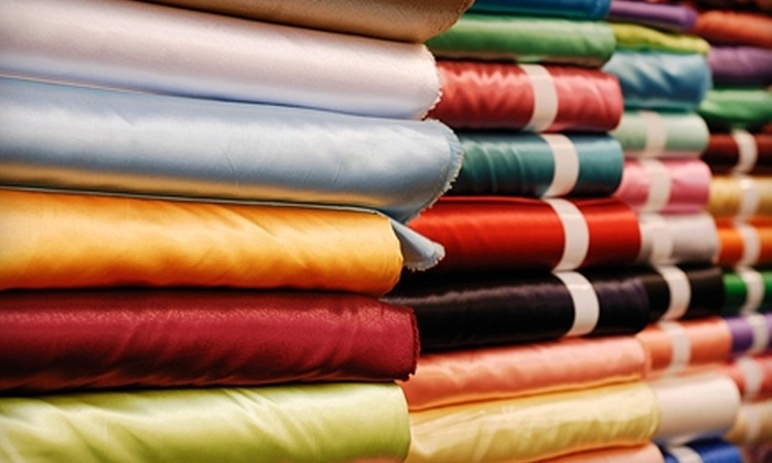 InStock Fabrics - Grant: $25 for $50 Worth of Home-Décor Fabric and Accessories at InStock Fabrics