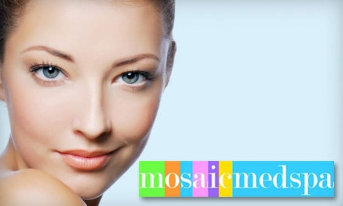Mosaic Medspa - Multiple Locations: $40 for a One-Hour Customized Facial at Mosaic Medspa ($85 Value)