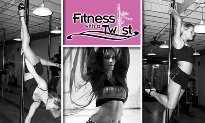 Fitness With A Twist - Southside Flats: $50 for 30 Days of Unlimited Pole, Dance, and Fitness Classes at Fitness With a Twist