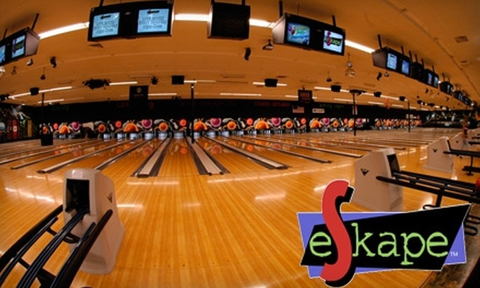 eSkape Entertainment Center - Buffalo Grove: $10 for $20 Worth of Bowling and Laser Tag at eSkape Entertainment Center in Buffalo Grove