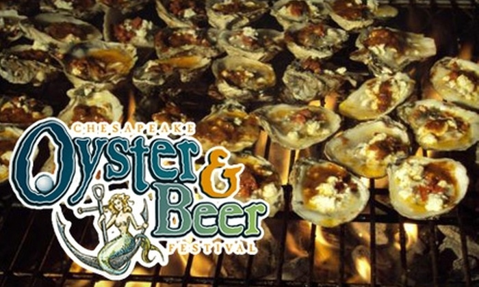 The Chesapeake Oyster & Beer Festival - Fort Washington: $55 for Admission Plus Souvenir Tasting Glass at The Chesapeake Oyster & Beer Festival on Friday, February 18 ($85 Value)