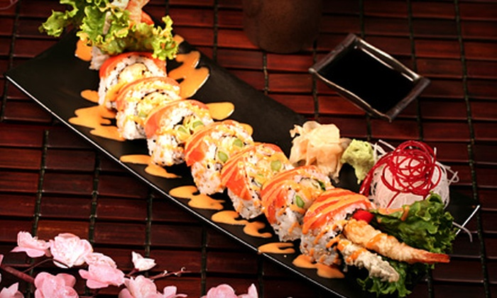 Axia - Erin Mills: $15 for $30 Worth of Asian Fare at Axia in Mississauga