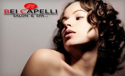Bei Capelli Salon & Spa: $70 Groupon - Bei Capelli Salon & Spa in New Albany