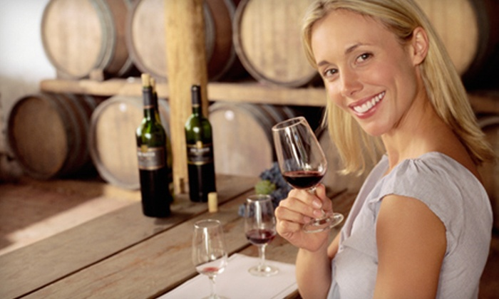 Wine on a Dime - Rancho Highlands: $5 for a Beer- or Wine-Tasting Outing for Two at Wine on a Dime in Temecula (Up to $25 Value)