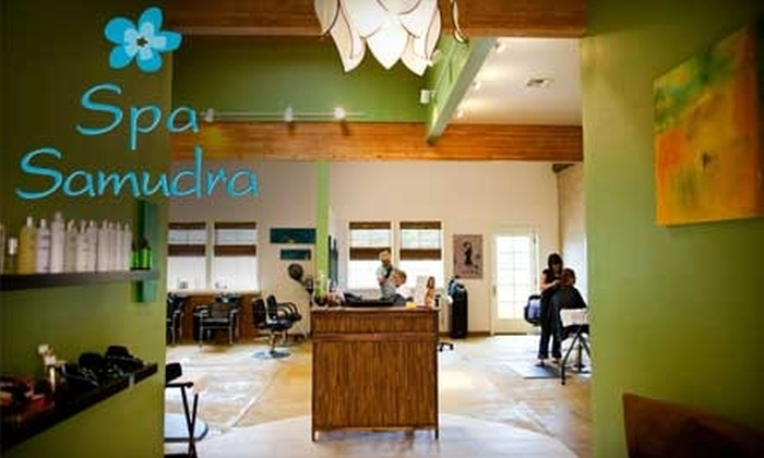 Spa Samudra - Multiple Locations: $75 for Traditional Facial and Hour-Long Swedish Massage ($165 Value)