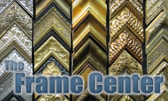 The Frame Center - Smithtown: $49 for $100 Worth of Framing Services at The Frame Center in Smithtown