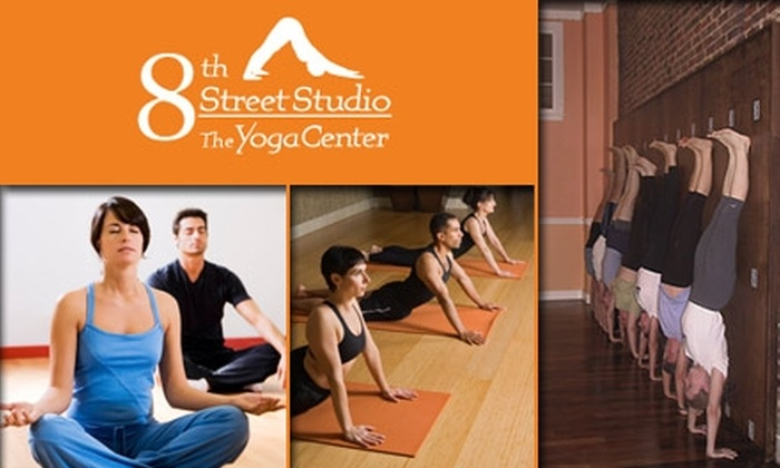 8th Street Studio - Elizabeth: $30 for any Five Group Yoga Classes at 8th Street Studio