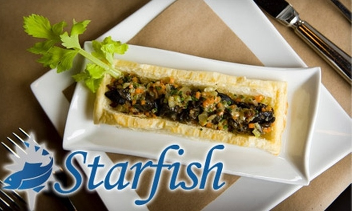 Starfish Brasserie - Bethlehem: $17 for $35 Worth of Sustainable Seafood and More at Starfish Brasserie
