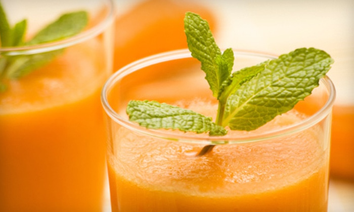 Khepra's Raw Food Juice Bar - H Street - NoMa: Three- or Five-Day Juice Cleanse at Khepra's Raw Food Juice Bar (Up to 55% Off)