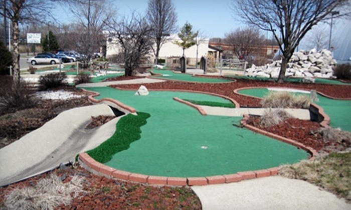 All Sports Dome - Auburn Hills: $10 for 18 Holes of Mini Golf for Four at All Sports Dome in Auburn Hills (Up to $20 Value)