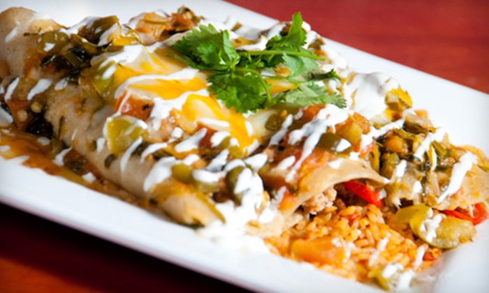 La Fiesta - Gaslamp: $15 for $35 Worth of Latin-Influenced Mexican Cuisine at La Fiesta