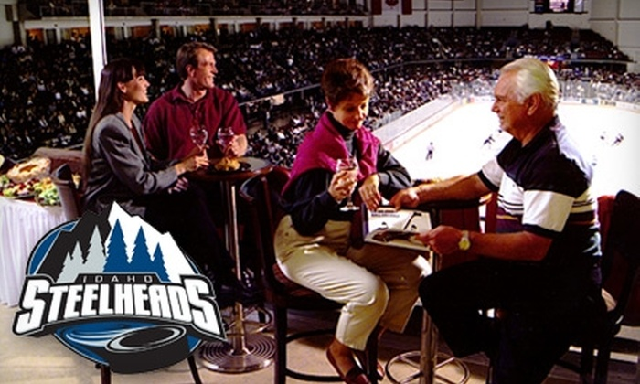 Idaho Steelheads - Downtown: Single or Private Suite Tickets to an Idaho Steelheads Game (Up to $650 Value). Choose from Two Options.