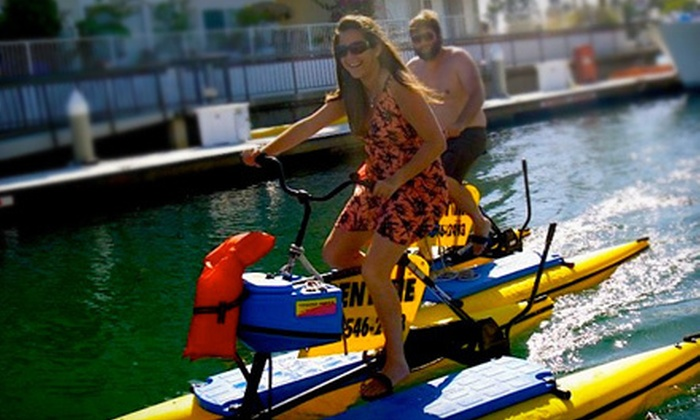 Long Beach Hydrobikes - Alamitos Bay Dock: One or Three Fitness Classes at Long Beach Hydrobikes (Up to 68% Off)
