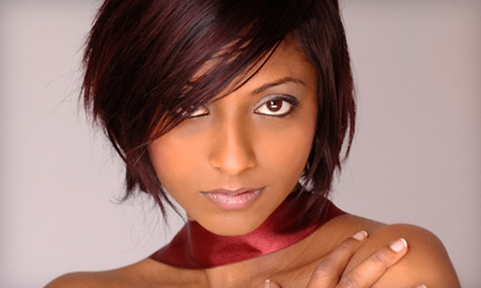 Finishing Touch Spa & Salon - Glenwood Grove - North Iris: Haircut and Deep-Conditioning Package with Color Option at Finishing Touch Spa & Salon in Boulder (Up to 60% Off)