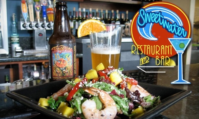Sweetwater Restaurant and Bar - Central Sacramento: $14 for $30 Worth of Dinner at Sweetwater Restaurant and Bar (or $8 for $20 for Lunch)