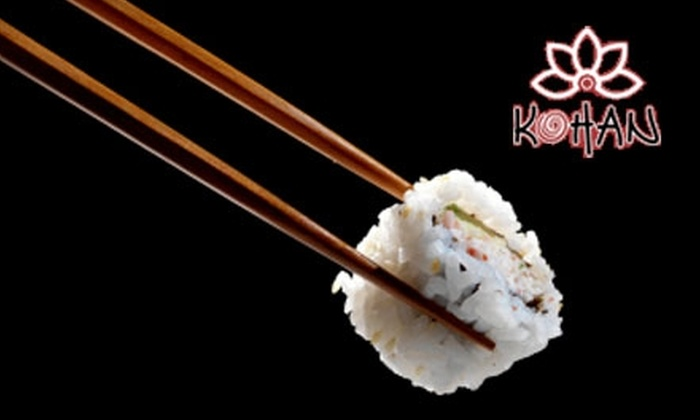 Kohan Sushi Chicago - University Village / Little Italy: $20 for $40 Worth of Pan-Asian Cuisine at Kohan