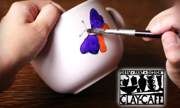 Clay Café - Grandview Heights: $10 for $20 Worth of Pottery Painting at Clay Café