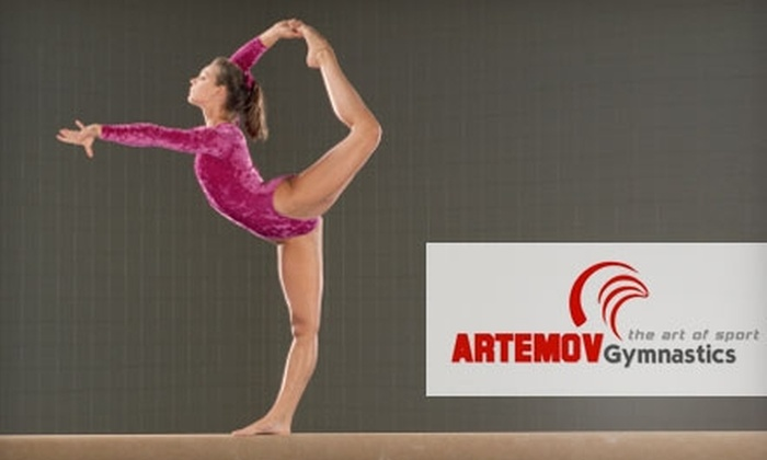 Artemov Gymnastics - Stone Oak: $31 for One Month of Gymnastics Classes at Artemov Gymnastics (Up to $62 Value)