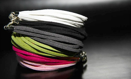 1 Multi-Layer Suede Bracelet (a $29.99 value, including shipping) - Feather Fashinista in