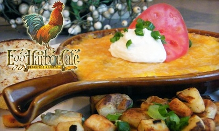 Egg Harbor Café - Rockford: $10 for $20 Worth of Gourmet Breakfast and Lunch Fare and Drinks at Egg Harbor Café