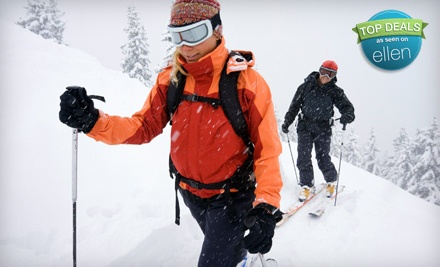 Cross-Country-Ski Pass for 1 Child Ages 3-12 Plus Ski Rental, Valid on Weekdays (a $20 value) - Winding Trails in Farmington