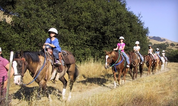 Western Trail Riding Services - Livermore-Pleasanton: $30 for a Horseback Trail Ride for Two from Western Trail Riding Services in Sunol ($60 Value)