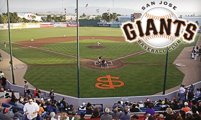 San Jose Giants - Central San Jose: $5 Ticket to Any San Jose Giants Home Game in 2010 ($10 Value)