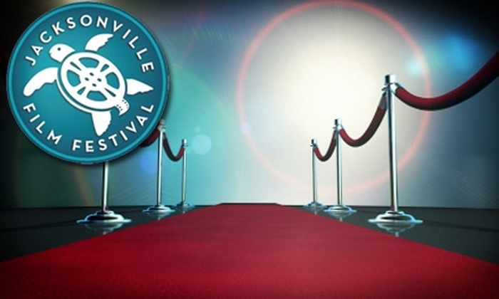 Jacksonville Film Festival - Downtown Jacksonville: $10 for Two Tickets to a Red-Carpet Event at Jacksonville Film Festival ($20 Value). Three Events Available.