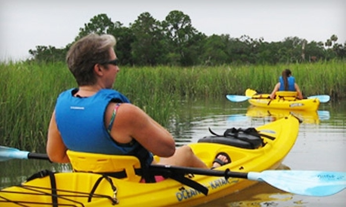 North Island Surf and Kayak - Savannah / Hilton Head: $20 for One-Day Kayak Rental from North Island Surf and Kayak ($45 Value)