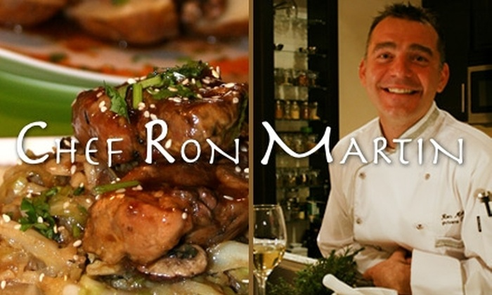 Chef Ron Martin - Portland: $275 for $550 Worth of In-Home Dinner-Party Services from Chef Ron Martin