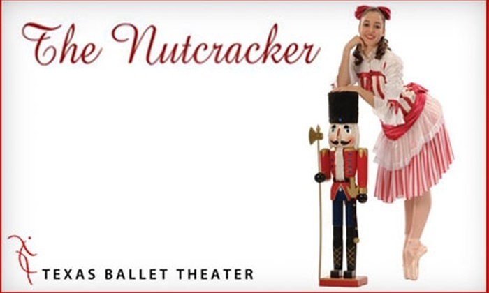 """Texas Ballet Theater - Downtown Fort Worth: One Ticket to """"The Nutcracker"""" at Texas Ballet Theater. Choose Between Two Seating Options and Three Dates."""