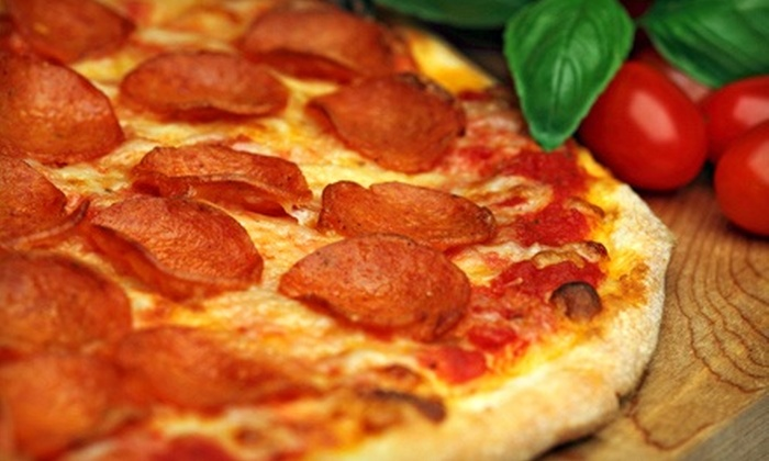 Dragons Pizza - Piedmont Triad: $10 for $20 Worth of Pizza, Calzone, and Stromboli at Dragons Pizza in Mocksville