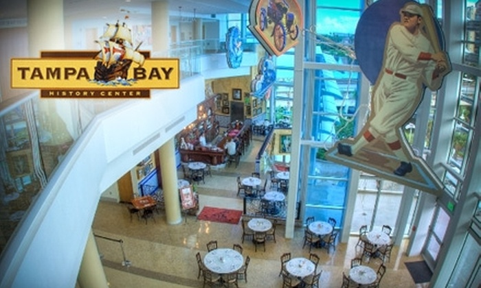 Tampa Bay History Center - Downtown: $6 for One Adult Admission to Tampa Bay History Center ($12 Value)