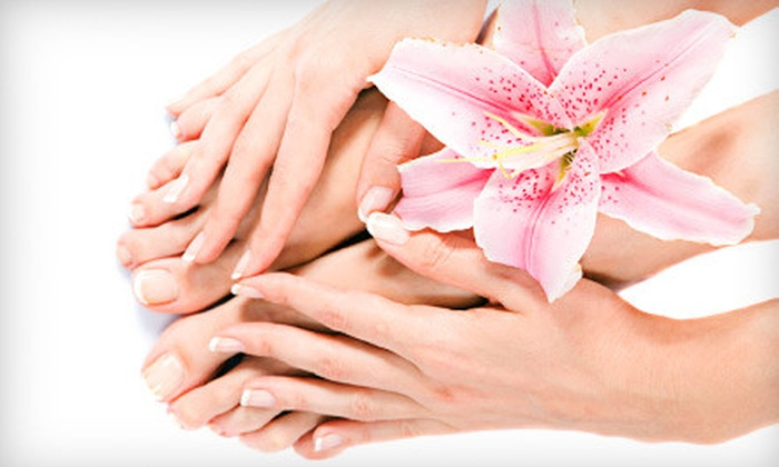 Carriage House Salon & Spa - West Bridgewater: $69 for Spa Day of Mani-Pedi and Facial or Massage at Carriage House Salon & Spa in West Bridgewater (Up to $145 Value)