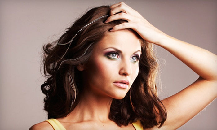 Persuasive Looks Salon - Dyer: $12 for Three Feather Extensions at Persuasive Looks Salon in Dyer ($25 Value)