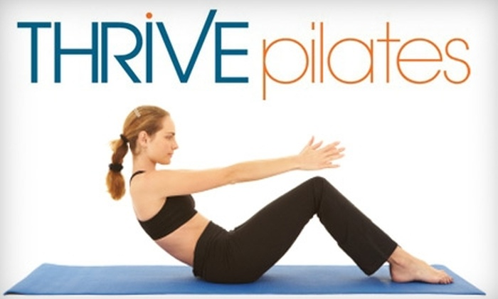 Thrive Pilates - Center City West: $35 for Five Fitness Classes at Thrive Pilates (Up to $75 Value)