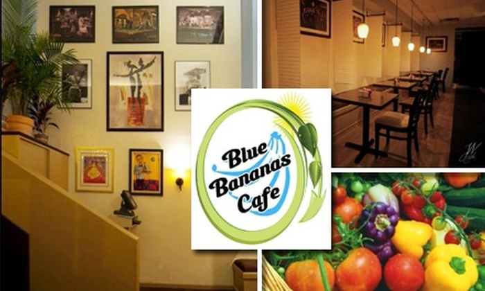 Blue Bananas Cafe - Center City East: $15 for $30 Worth of Caribbean Cuisine and Cocktails at Blue Bananas Cafe