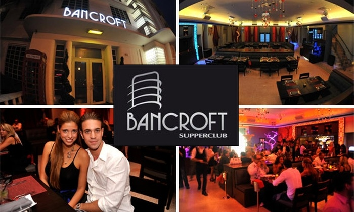 Bancroft Supper Club - Flamingo / Lummus: $25 for $50 Worth of Food and Drink at Bancroft Supperclub