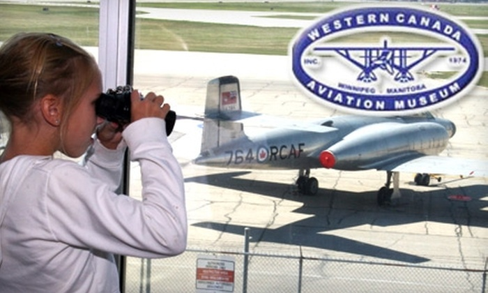 Western Canada Aviation Museum - Airport: Up to 53% Off Membership or Admission to the Western Canada Aviation Museum. Choose from Three Options.