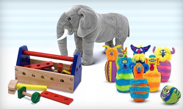 Leap Frog Children's Consignment Boutique - Natchez Trace Village: $12 for $24 Worth of Melissa & Doug Brand Toys at Leap Frog Children's Consignment Boutique in Madison